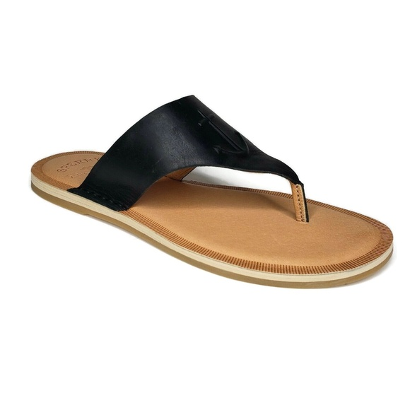 Sperry Shoes - Sperry Top Sider Seaport Thong Sandals Leather 8.5